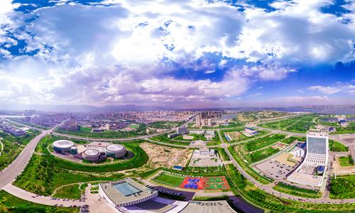 大武口航拍全景360